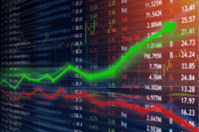 stock market order screen