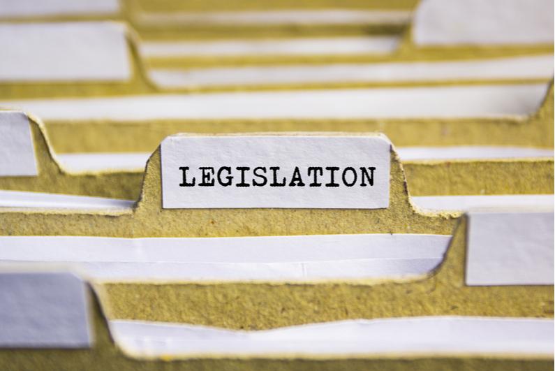 Legislation file folder