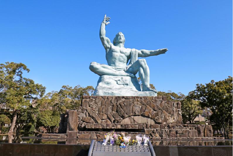 Nagasaki Peace Statue