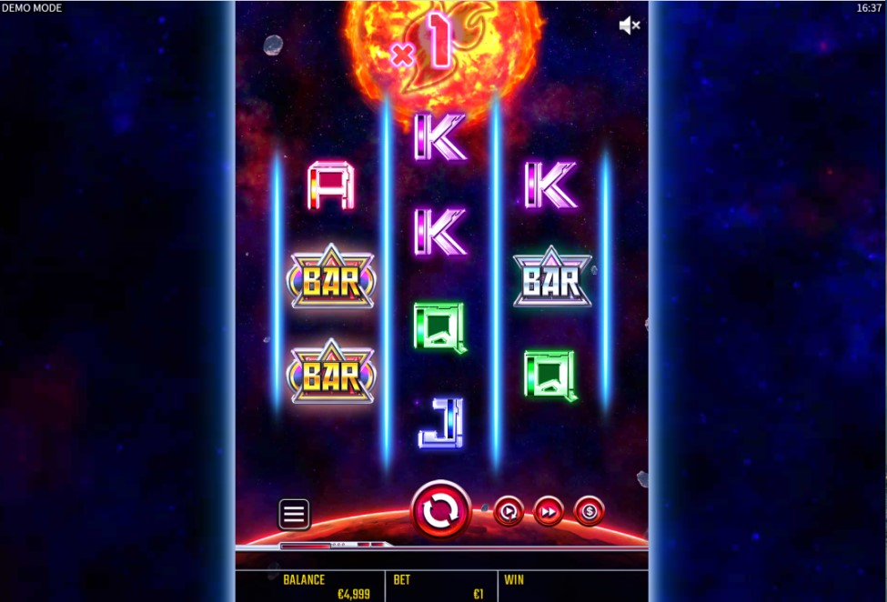 Engeki Rising X50 slot reels by Golden Hero