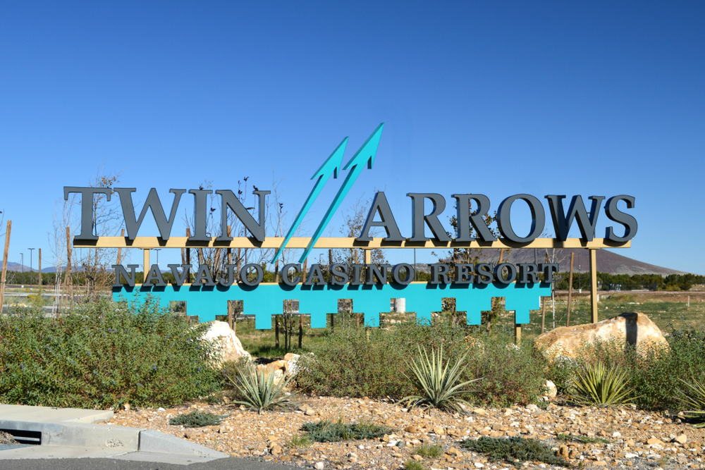 Twin Arrows casino resort property in Arizona