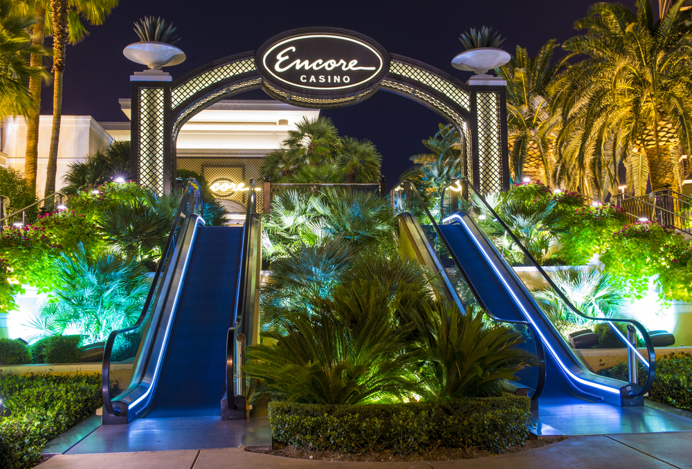 Encore Casino entrance in Las Vegas