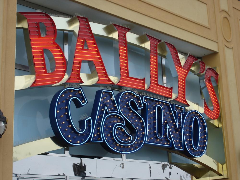 Ballly's Casino sign