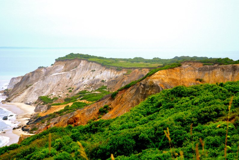 Aquinnah Beach on Martha's Vineyard