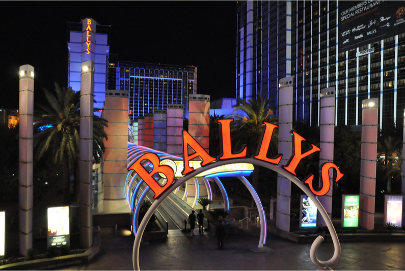Entrance to the Las Vegas monorail at Bally's