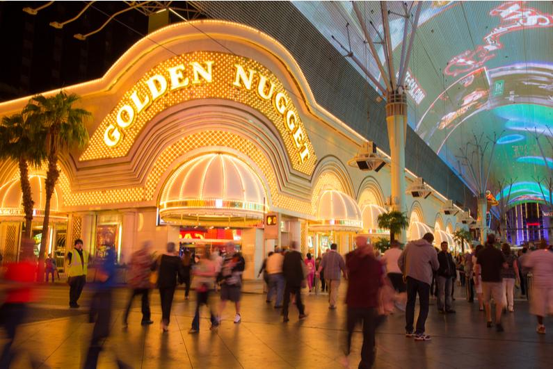 Golden Nugget casino in downtown Las Vegas