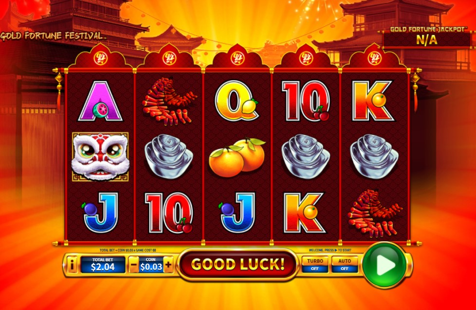 Gold Fortune Festival slot reels by Skywind