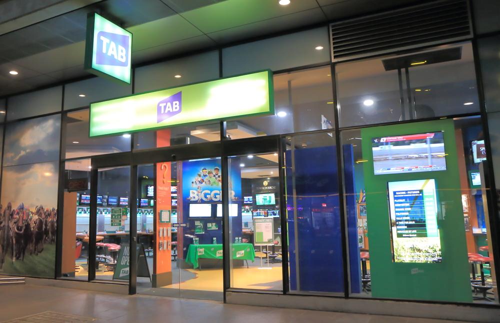 TAB-branded betting shop