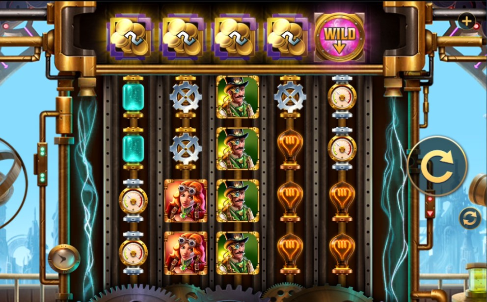 Spin-Vention slot reels by High 5 Games