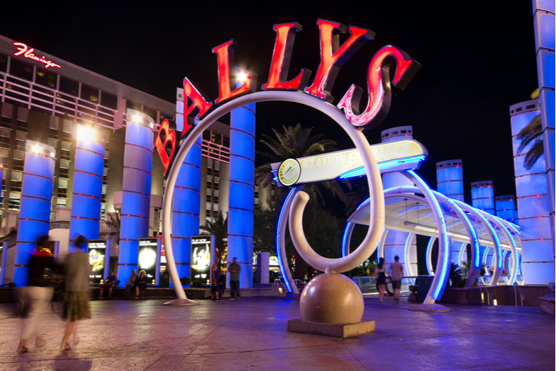Bally's Las Vegas entrance