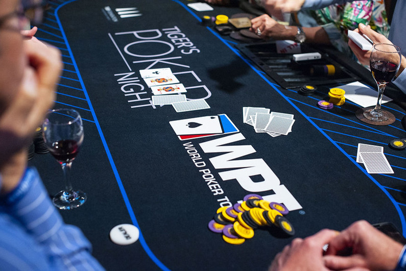 World Poker Tour table