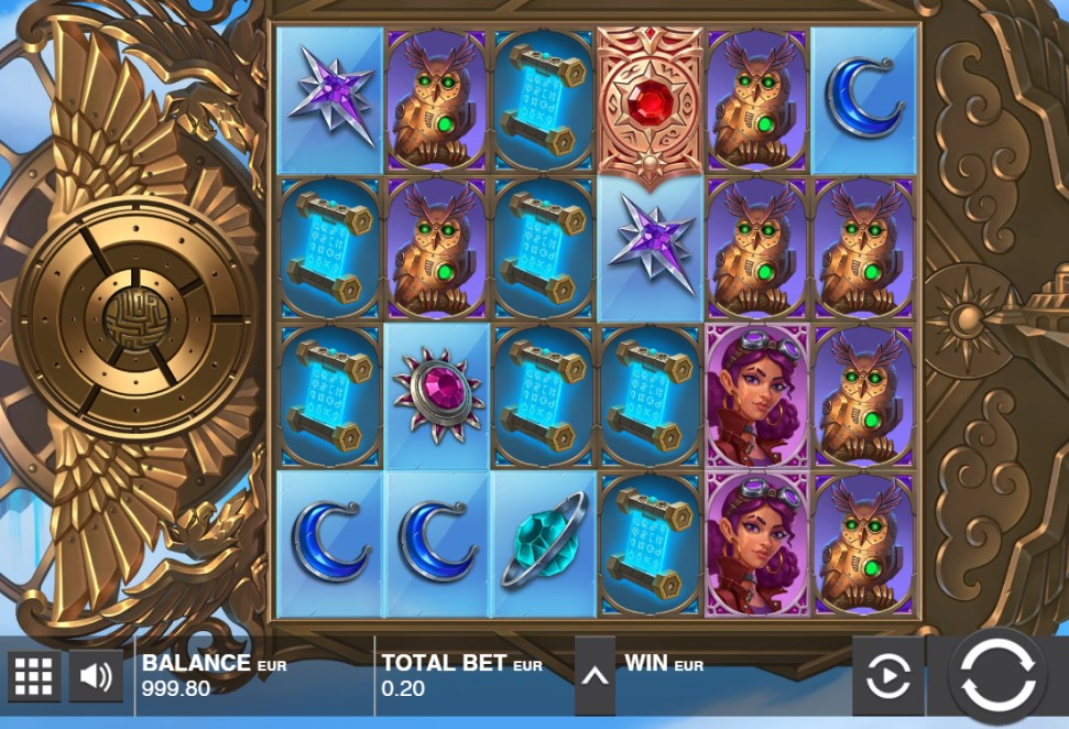Land of Zenith slot reels by Push Gaming