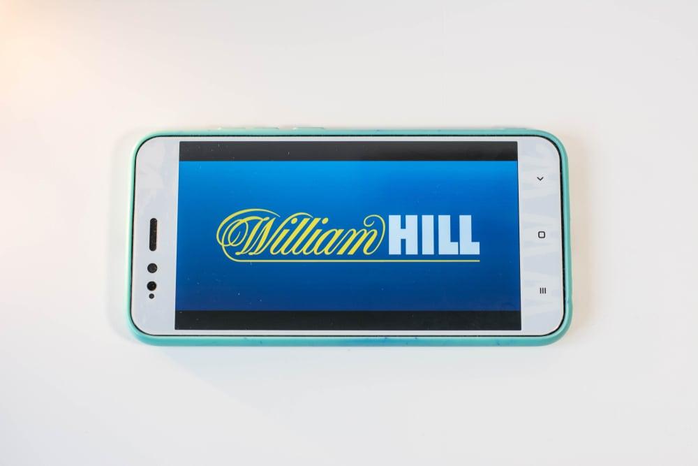 William Hill logo on smartphone