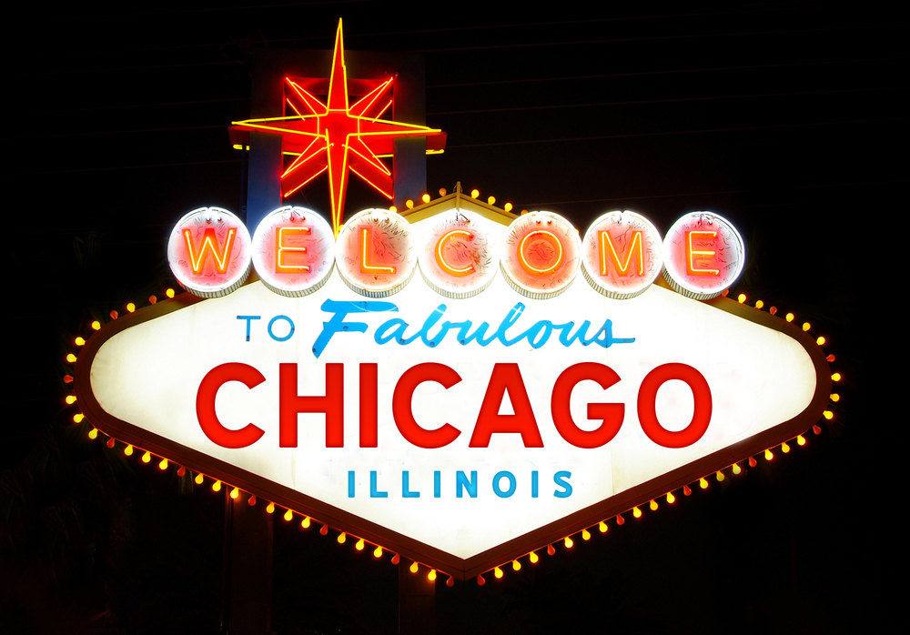 Welcome to fabulous Chicago sign