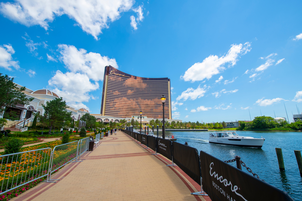 Encore Boston Harbor riverside casino resort