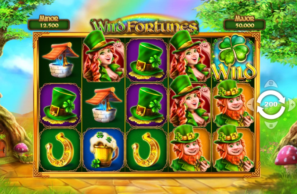 Wild Fortunes slot reels by PariPlay