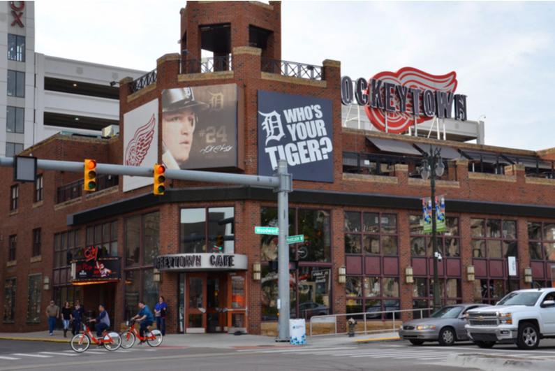 Detroit's Hockeytown Cafe