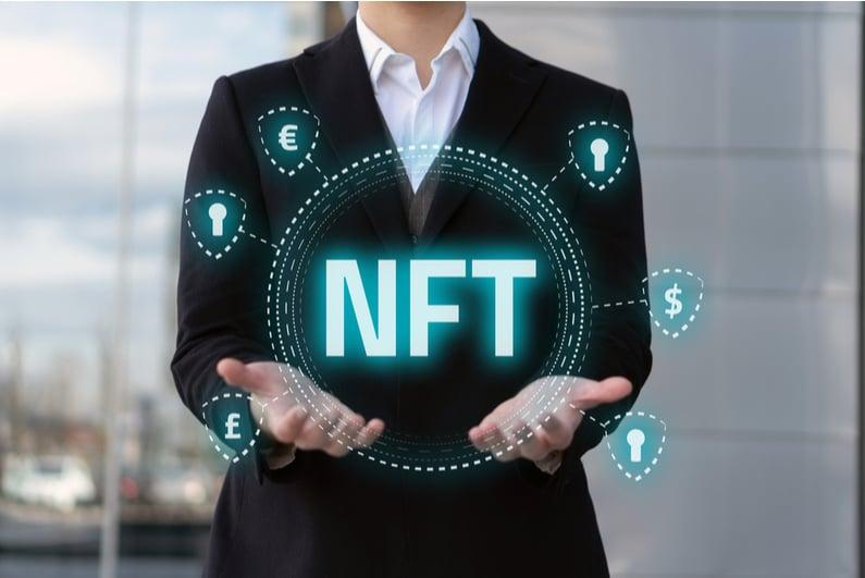 NFT graphic concept