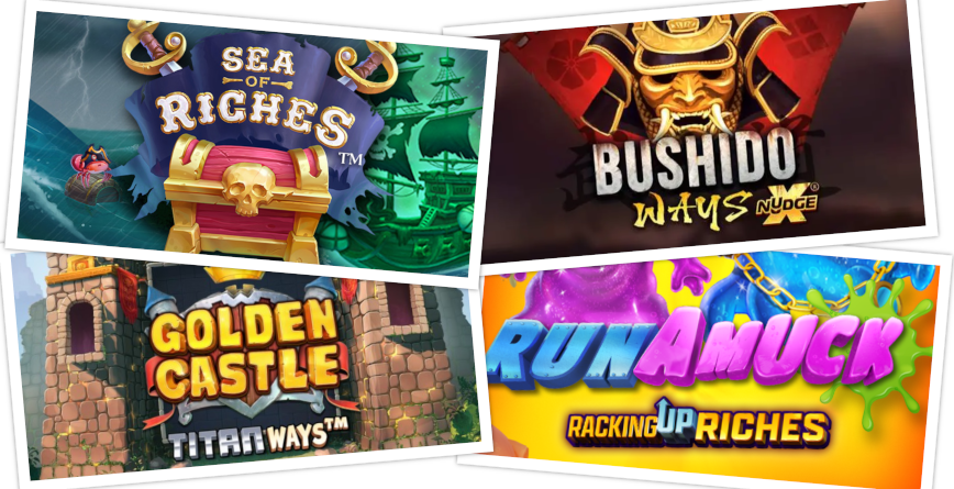 Slots of the Week feature image April 9th 2021
