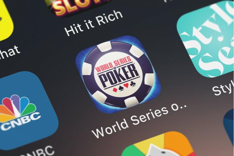 WSOP smartphone app icon