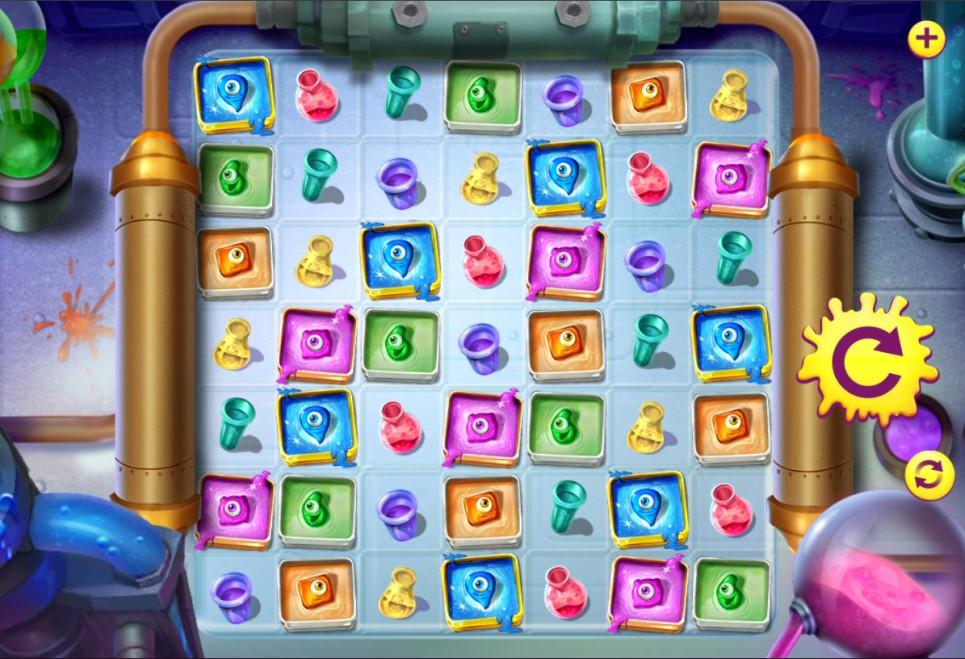 Run Amuck slot reels by High 5 Games