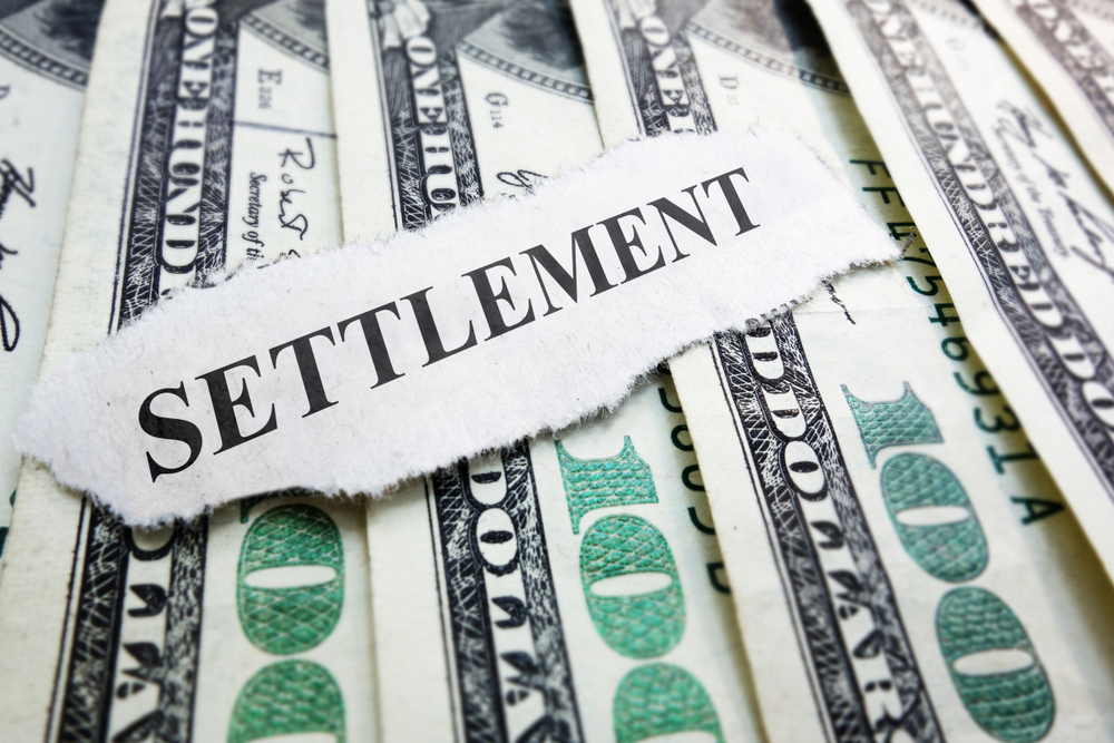 Dollars and settlement on paper