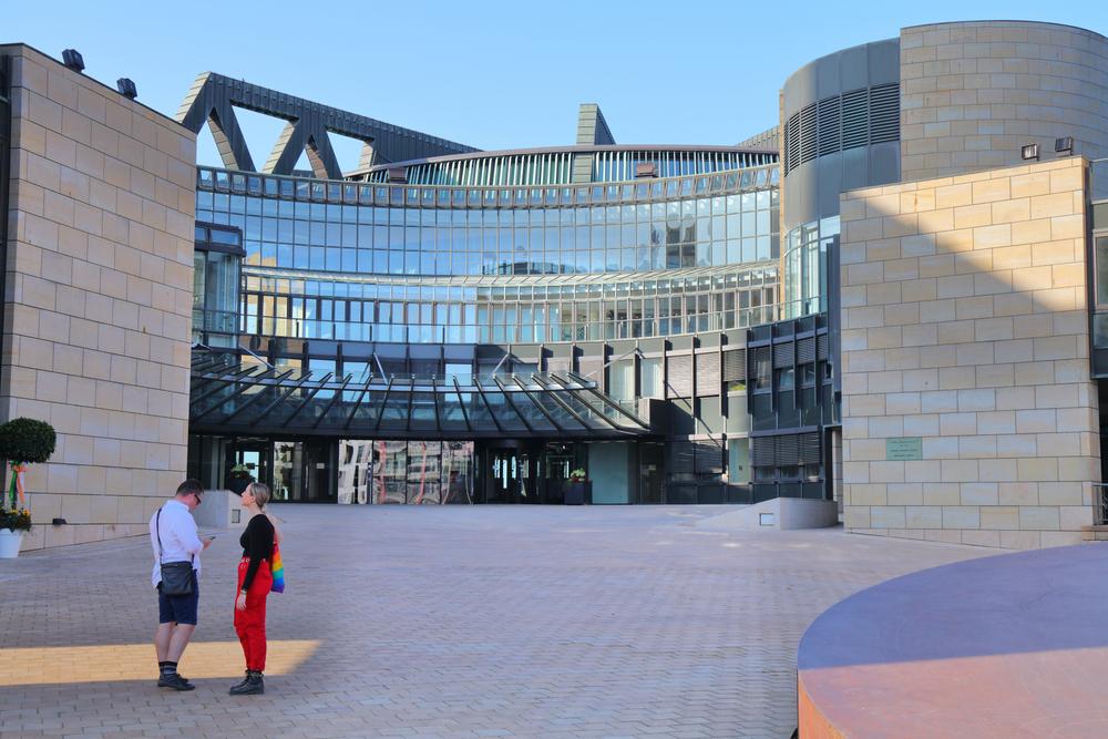 Nordrhein-Westfalen parliament in Dusseldorf