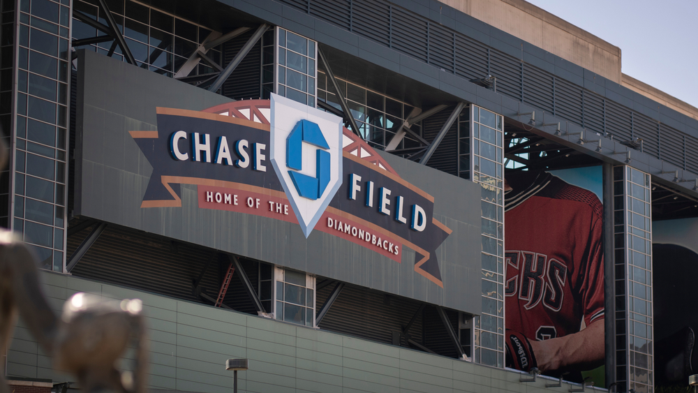 Chase Field stadium in Arizona
