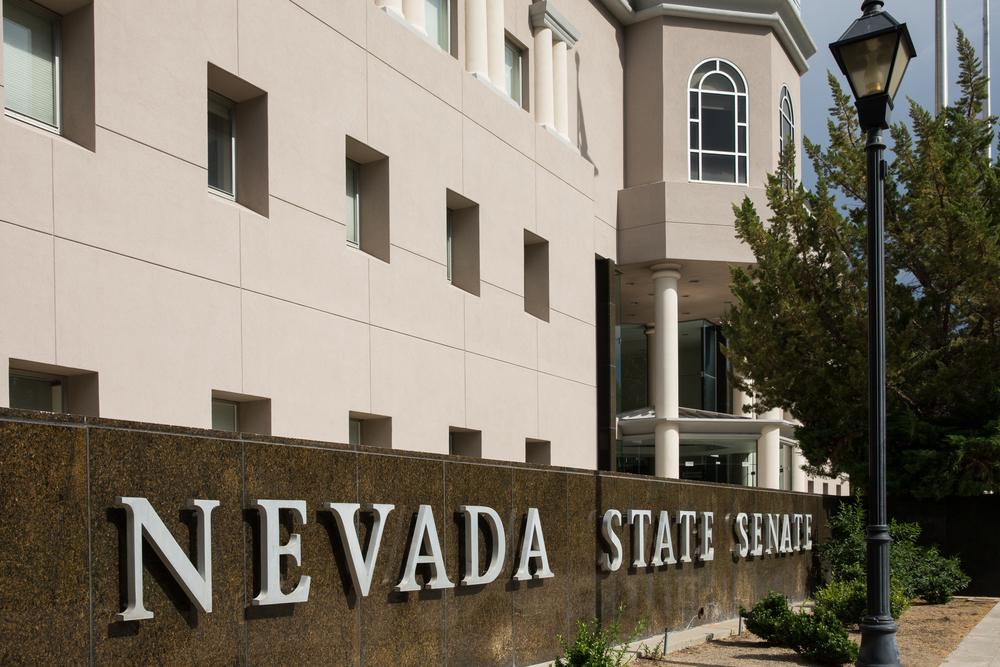 Nevada State Senate building facade