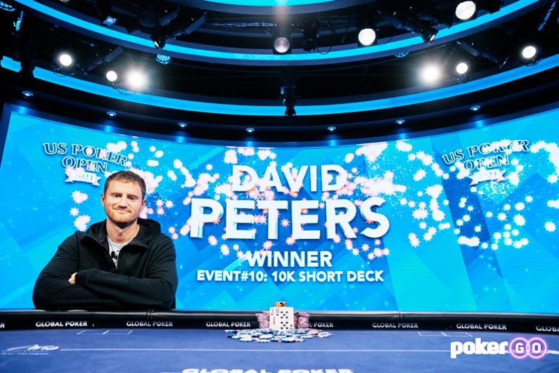 David Peters, U.S. Poker Open