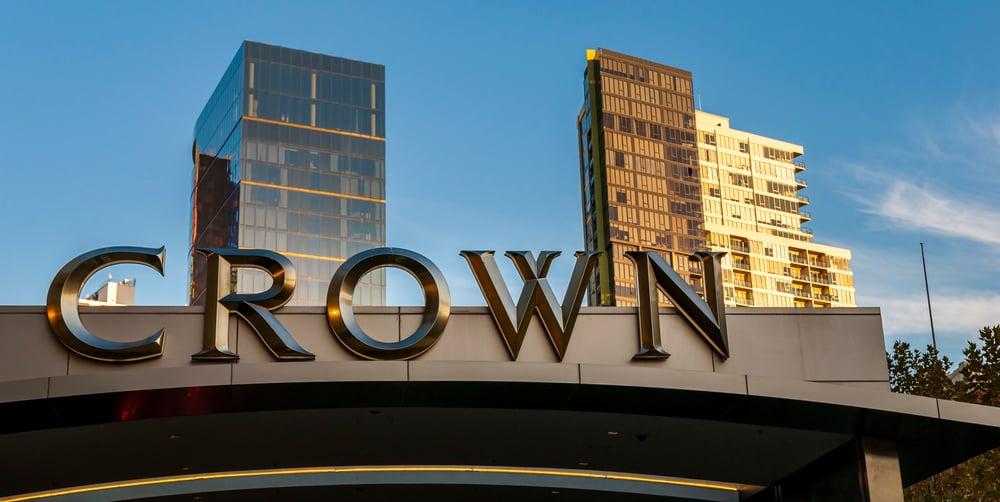 Crown casino resort in Melbourne, Australia