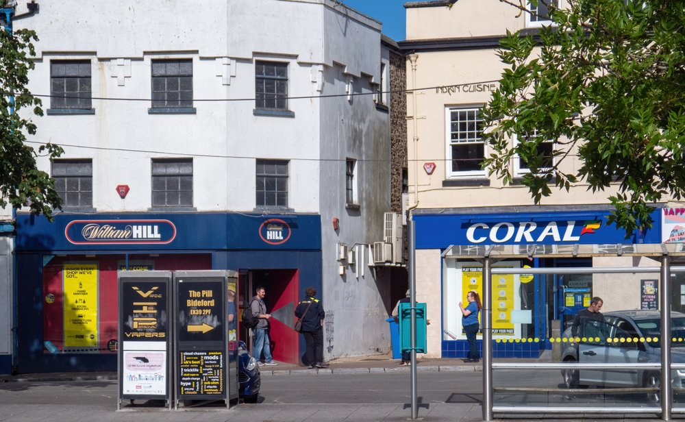 William Hill and Coral betting shops