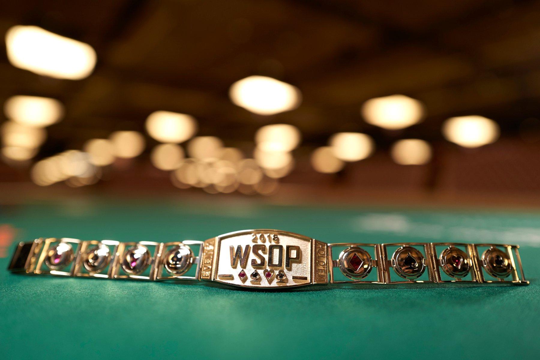 WSOP 2018 bracelet