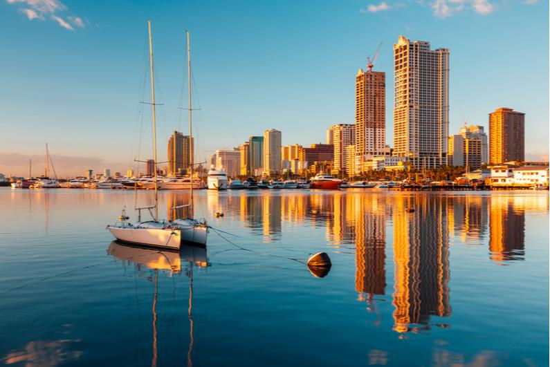Manila City and Manila Bay