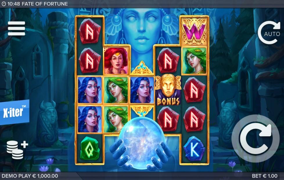 Fate of Fortune slot reels by ELK Studios