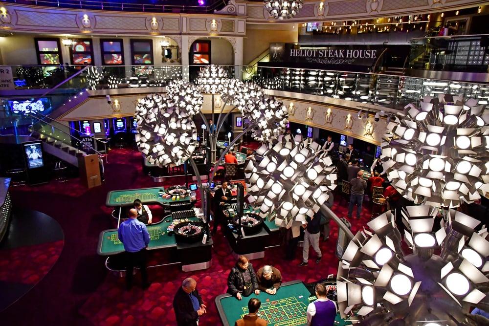 The Hippodrome Casino in London, England