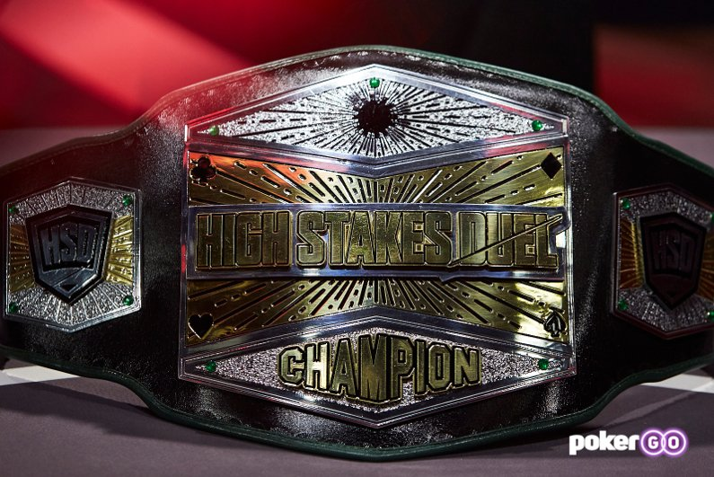 High Stakes Duel championship belt