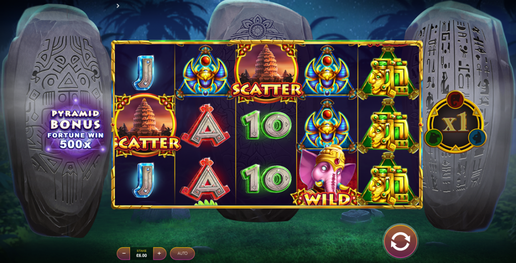 Ages of Fortune slot reels oleh Cayetano Gaming