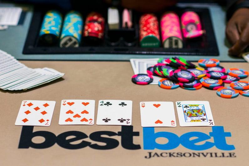 bestbet Jacksonville poker felt
