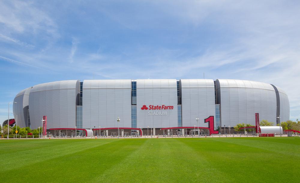 State Farm Stadium in Glendale, Arizona