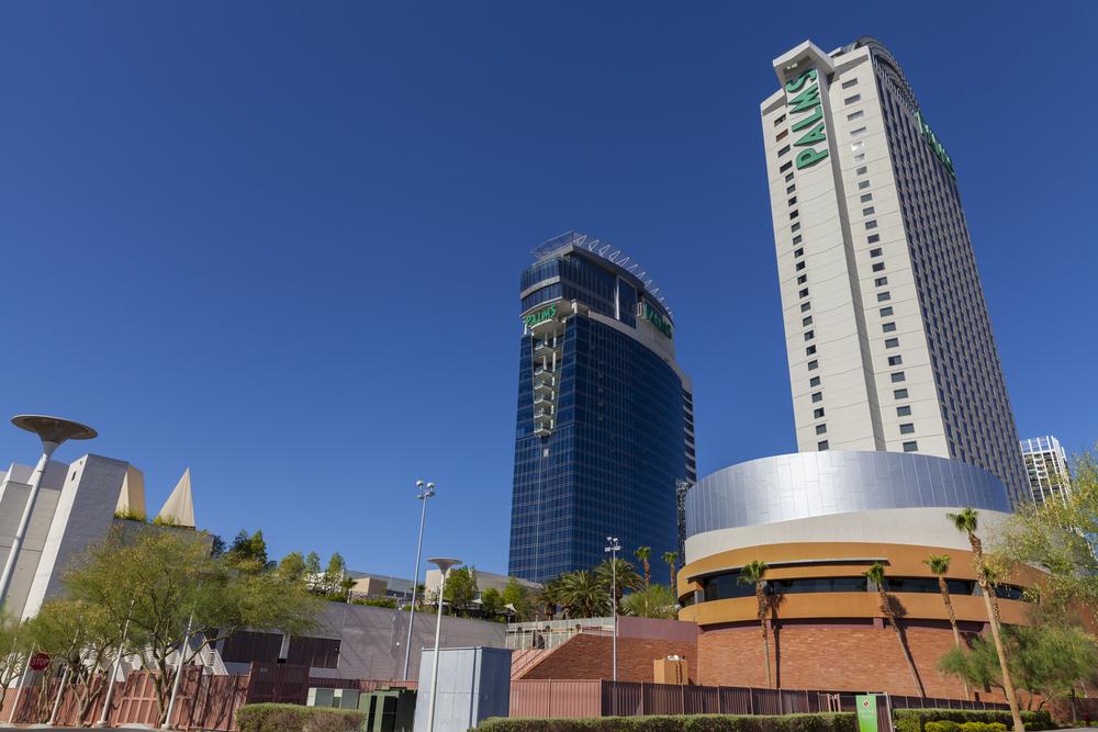 Palms Casino Resort buildings in Las Vegas