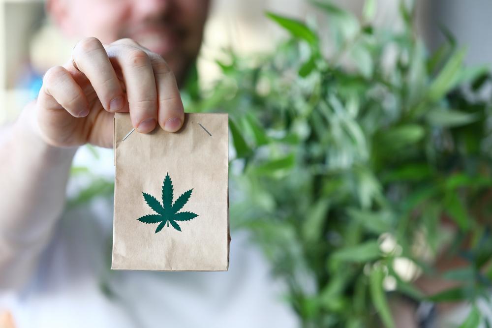 hand dispensing cannabis