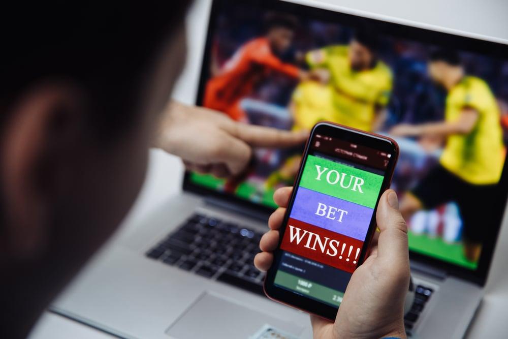 Man wins bet on phone