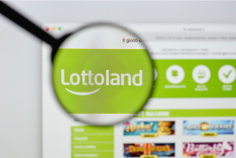 Lottoland homepage