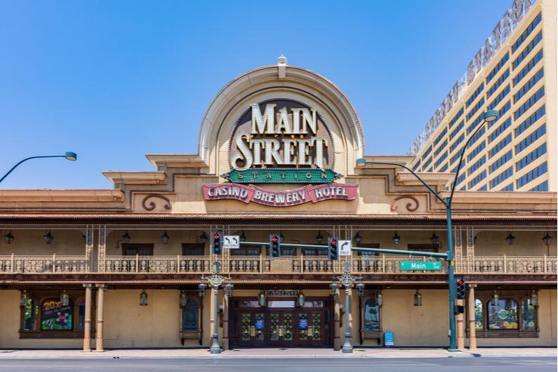 Exterior of Main Street Station casino