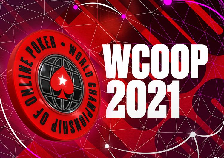 PokerStars WCOOP 2021 logo