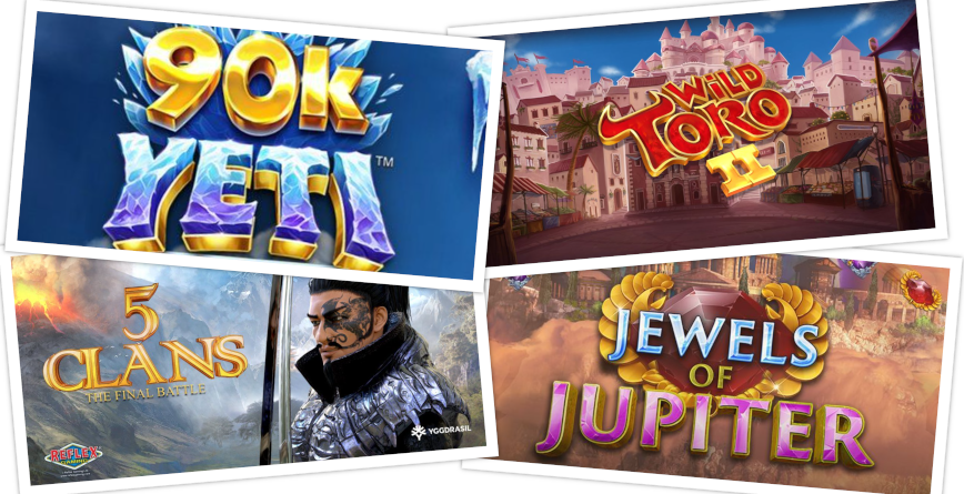Slots of the Week feature image September 24 2021