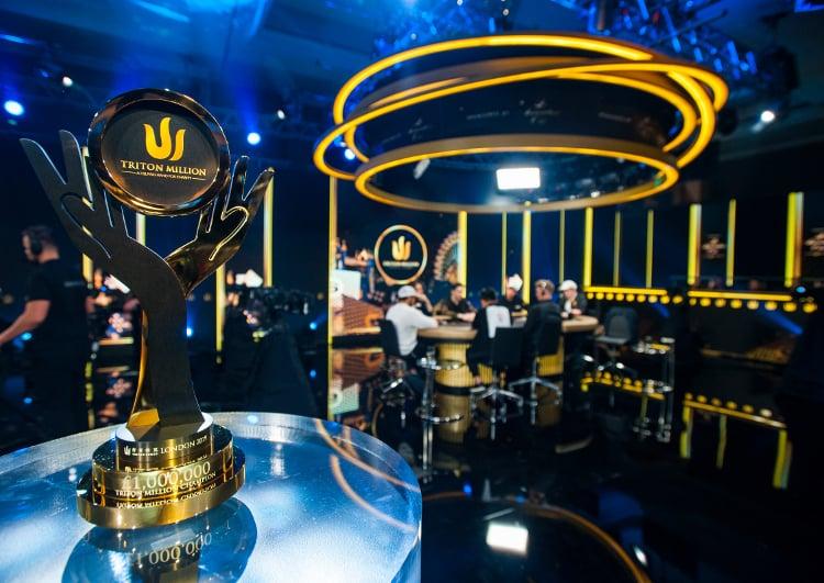 Triton Millions London 2019 trophy