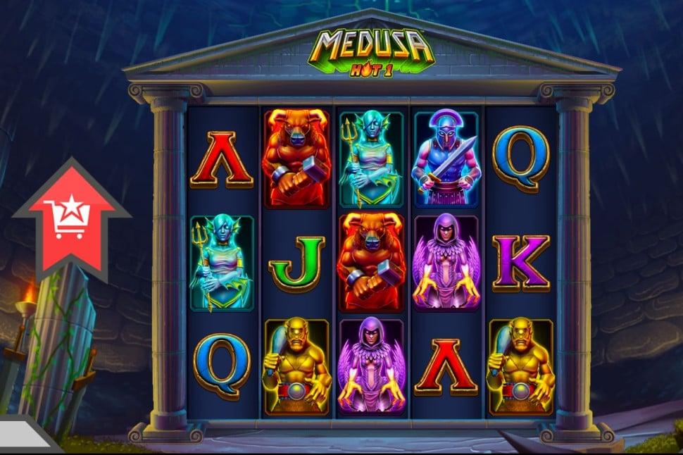 Medusa Hot 1 slot reels oleh High Rise Games