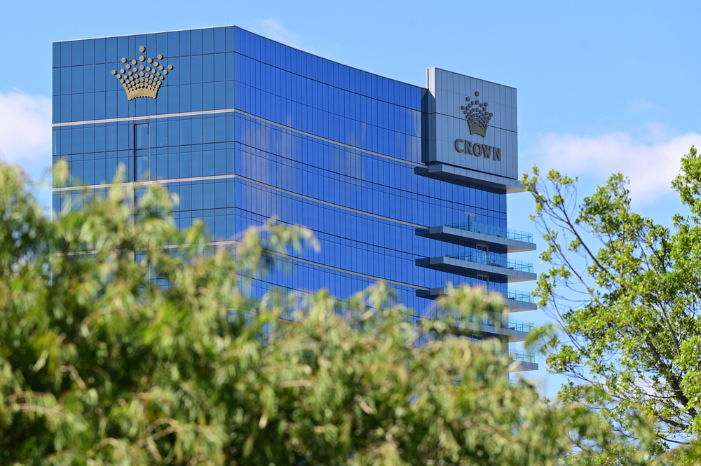 Crown Resorts building in Perth